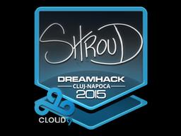Sticker | shroud | Cluj-Napoca 2015