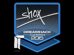 Sticker | shox | Cluj-Napoca 2015