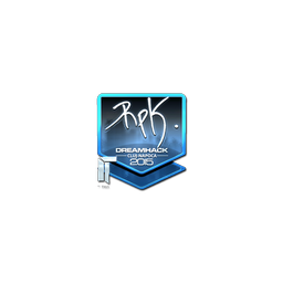 Sticker | RpK (Foil) | Cluj-Napoca 2015