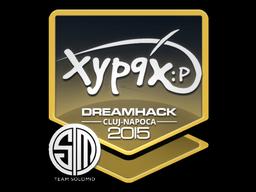 Sticker | Xyp9x | Cluj-Napoca 2015
