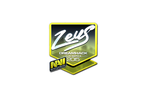 Sticker | Zeus (Foil) | Cluj-Napoca 2015 Prices