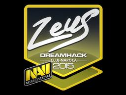 Sticker | Zeus | Cluj-Napoca 2015