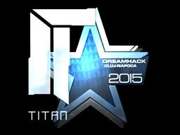 Sticker | Titan (Foil) | Cluj-Napoca 2015