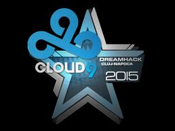 Sticker | Cloud9 | Cluj-Napoca 2015