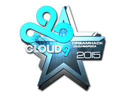 Sticker | Cloud9 (Foil) | Cluj-Napoca 2015