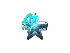 Skin Sticker | Counter Logic Gaming (Foil) | Cluj-Napoca 2015