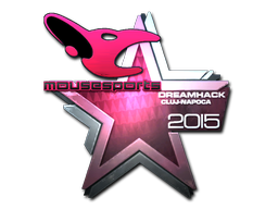 Sticker | mousesports (Foil) | Cluj-Napoca 2015