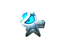 Skin Sticker | Luminosity Gaming (Foil) | Cluj-Napoca 2015