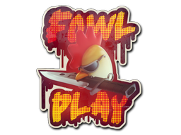 Sticker | Fowl Play