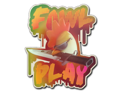 Sticker | Fowl Play (Holo)