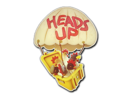 Sticker | Heads Up