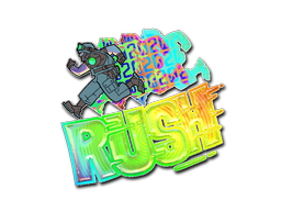Sticker | Rush 4x20 (Holo)