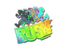 Skin Sticker | Rush 4x20 (Holo)