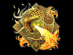 Sticker | Dragon Lore (Foil)