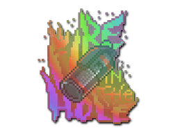 Sticker | Fire in the Hole (Holo)