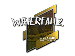 Sticker | waterfaLLZ | Boston 2018