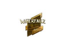 Skin Sticker | waterfaLLZ (Gold) | Boston 2018
