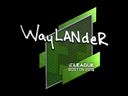 Sticker   wayLander   Boston 2018