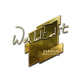 WorldEdit (Gold) | Boston 2018