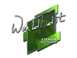 Sticker | WorldEdit | Boston 2018