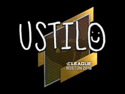 Sticker | USTILO | Boston 2018