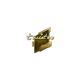 Sticker | Twistzz (Gold) | Boston 2018