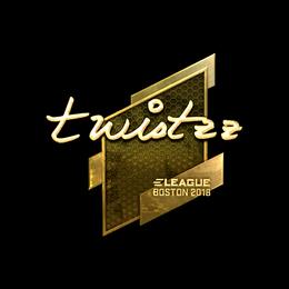 Twistzz (Gold) | Boston 2018