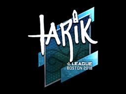 Sticker | tarik (Foil) | Boston 2018