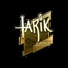 Sticker | tarik (Gold) | Boston 2018