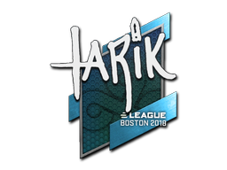 Sticker | tarik | Boston 2018