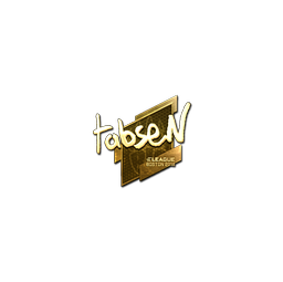 Sticker | tabseN (Gold) | Boston 2018