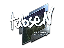 Steamanalyst Com Sticker Tabsen Foil Boston 2018
