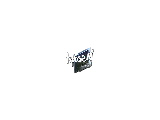 Sticker | tabseN (Foil) | Boston 2018