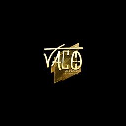 Sticker | TACO (Gold) | Boston 2018