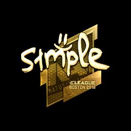 s1mple (Gold) | Boston 2018