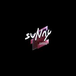 Sticker   suNny (Foil)   Boston 2018