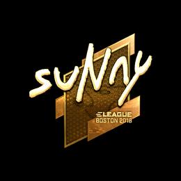 suNny (Gold) | Boston 2018