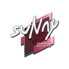 Sticker | suNny | Boston 2018