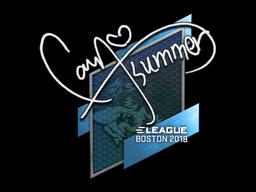 Sticker | Summer | Boston 2018