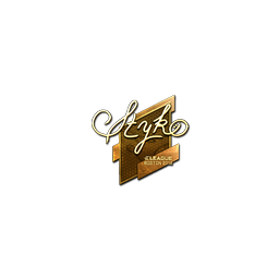 Sticker | STYKO (Gold) | Boston 2018