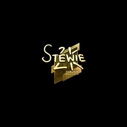 Sticker | Stewie2K (Gold) | Boston 2018