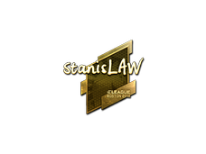 Skin Sticker | stanislaw (Gold) | Boston 2018
