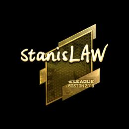 stanislaw (Gold) | Boston 2018