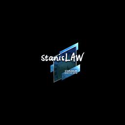 Sticker | stanislaw (Foil) | Boston 2018