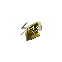 Sticker | Spiidi (Gold) | Boston 2018