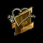 Sticker   seang@res (Gold)   Boston 2018
