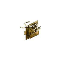 Sticker | ScreaM (Gold) | Boston 2018