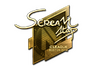 Skin Sticker | ScreaM (Gold) | Boston 2018