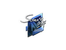 Skin Sticker | ScreaM (Foil) | Boston 2018