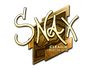 Skin Sticker | Snax (Gold) | Boston 2018